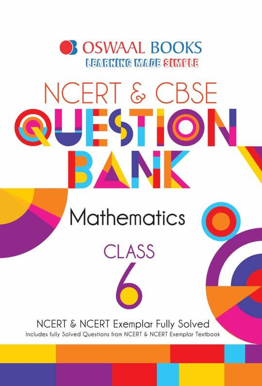 Oswaal CBSE Question Bank Mathematics for Class 6
