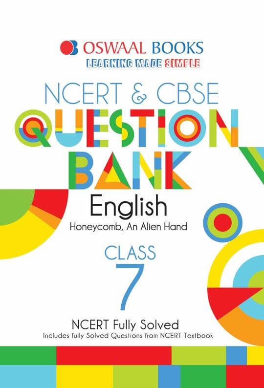 Oswaal CBSE Question Bank English for Class 7