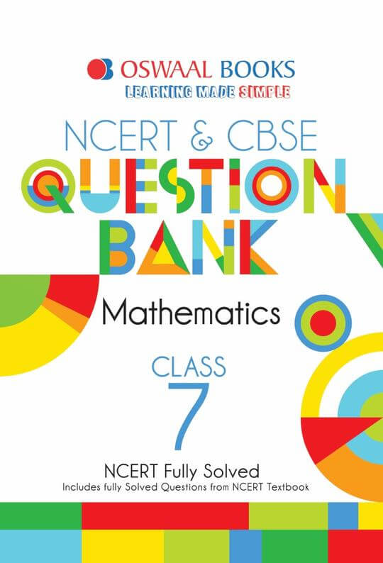 Oswaal CBSE Question Bank Mathematics for Class 7