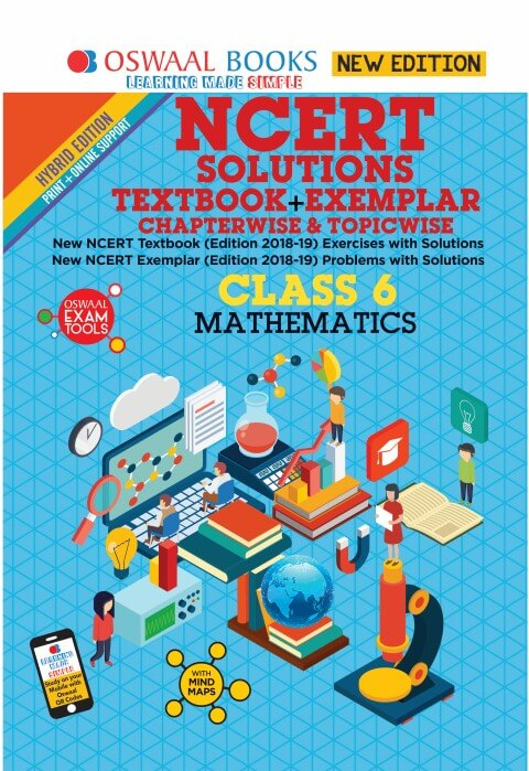Oswaal NCERT (Solutions Textbook + Exemplar) Class 6 Mathematics