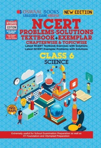 Oswaal NCERT (Solutions Textbook + Exemplar) Class 6 Science