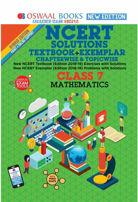 Oswaal NCERT (Solutions Textbook + Exemplar) Class 7 Mathematics