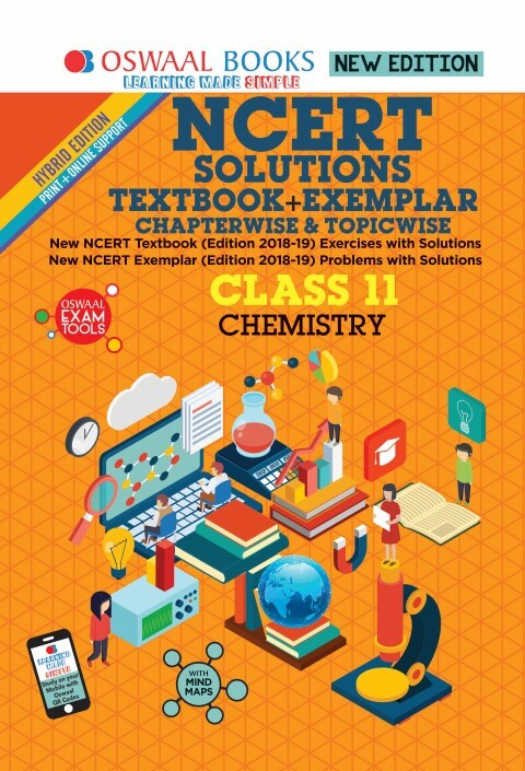 Oswaal NCERT Solutions Textbook + Exemplar Class 11 Chemistry