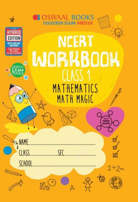 Oswaal NCERT Workbook Class 1 Mathematics Math Magic