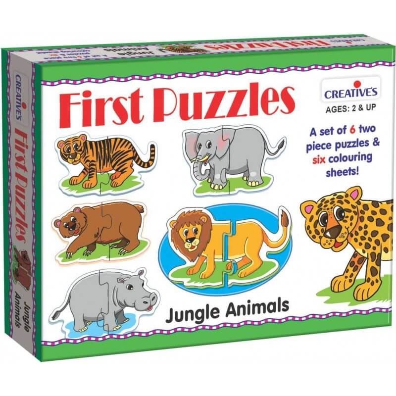 First Puzzles - Jungle Animals