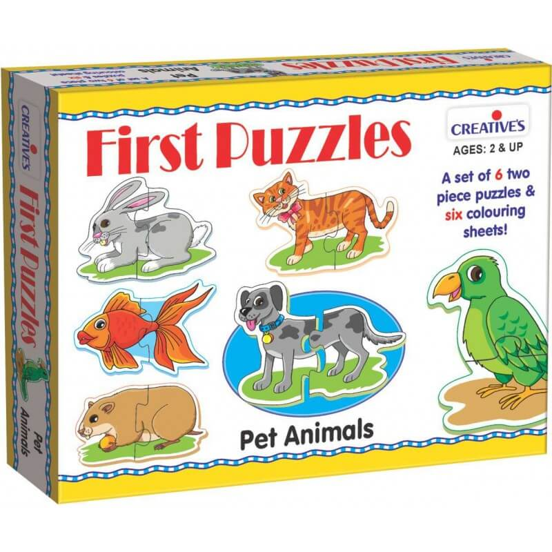 First Puzzles-Pet Animals
