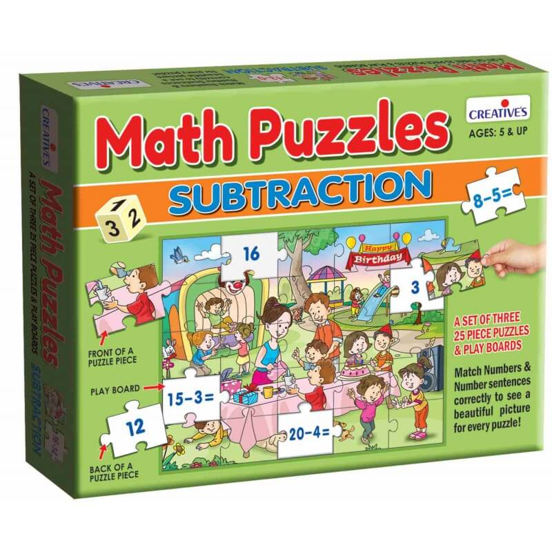 Math Puzzles Subtraction
