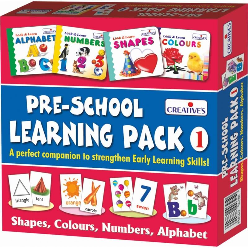 Pre-School Learning Pack-1