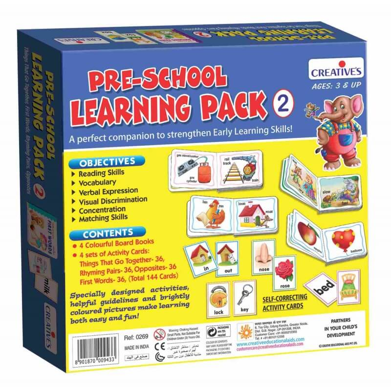 Pre-School Learning Pack-2