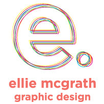 ellie mcgrath graphic design logo