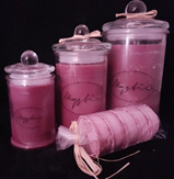 Black Raspberry and Vanilla Candles