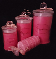 Raspberry Candles