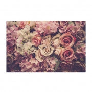 Load image into Gallery viewer, vintage pink roses card