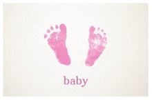 Load image into Gallery viewer, Pink baby card