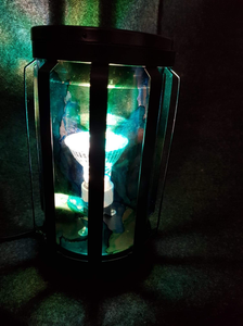 Mystic Hand Painted Electric Melt Warmer - Marine