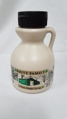 Britt Family Maple Syrup 1/2 Pint