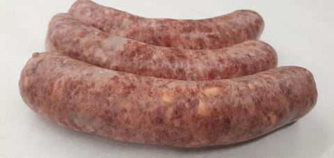 Alward's Home Smoked Cheese Bratwurst