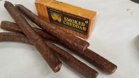 Alward's Homemade Smokie Stix with Cheese