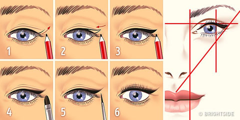 how to fill eye lashes correctly