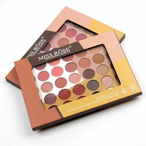 Miss Rose 35 Colour High Gloss & Matte Eyeshadow
