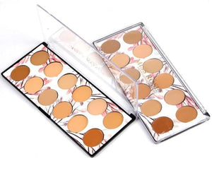 Miss Rose 12 Colors Concealer Palette
