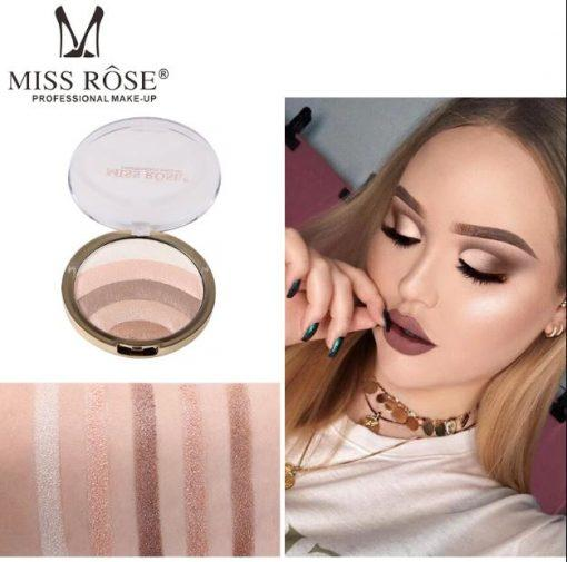 MISS ROSE 5 in 1 Eye shadow and Highlighter