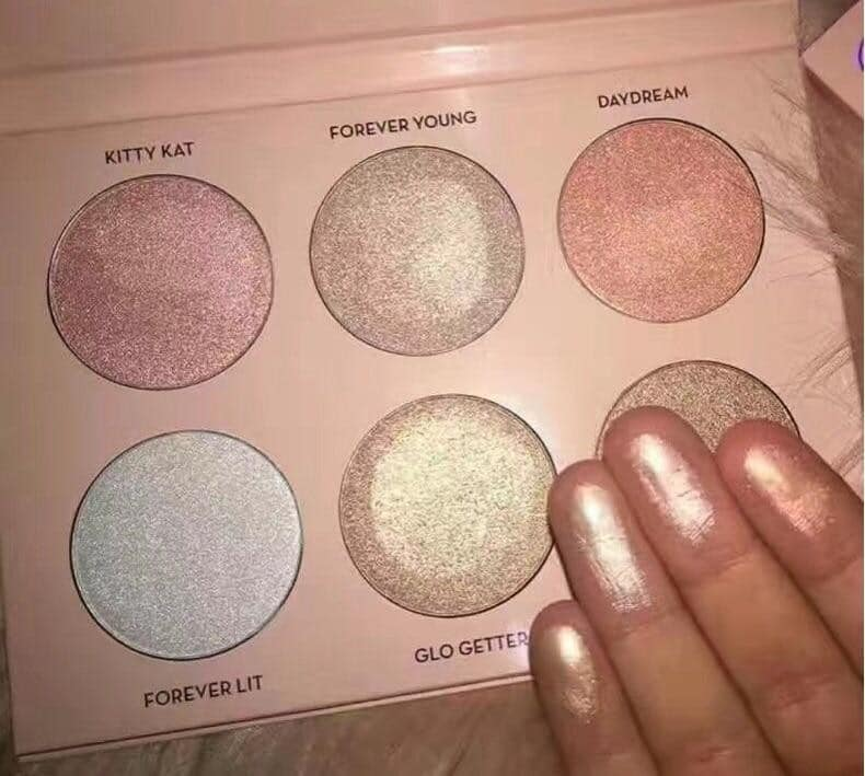 MISS ROSE Ultimate 6 Color Glow Kit