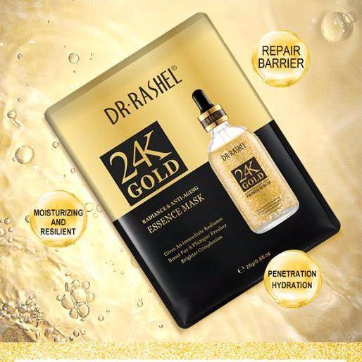 24K GOLD ESSENCE FACIAL MASK