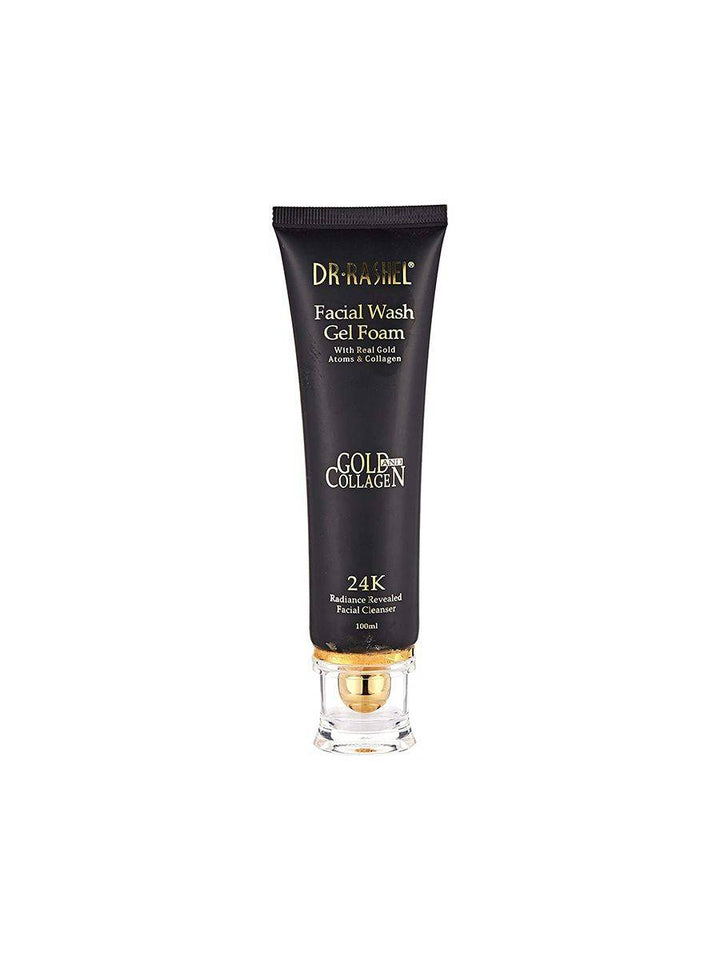 Dr Rashel Facial Wash Gel Foam with Real Gold Atoms & Collagen