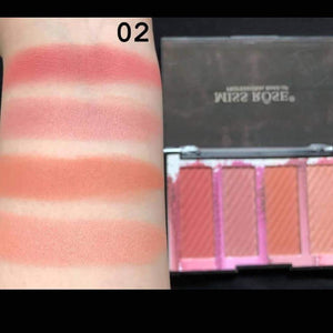Original Miss Rose Bronzers 4 Color  Highlighters Palette