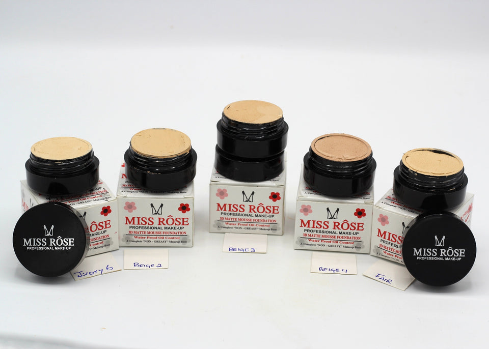 Miss Rose 3D Matte Mousse Foundation