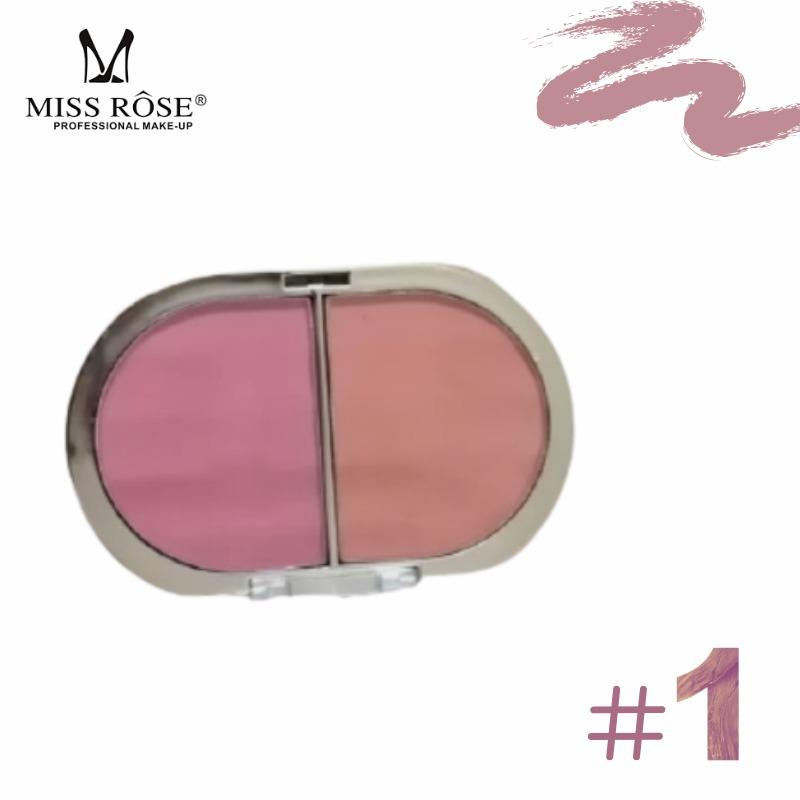 Miss Rose 2 in 1 blusher on Gold Packing