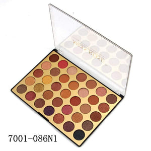 Miss Rose 35 color eyeshadow palette N1