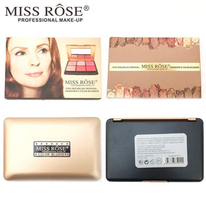 MISS ROSE Blush On Palette