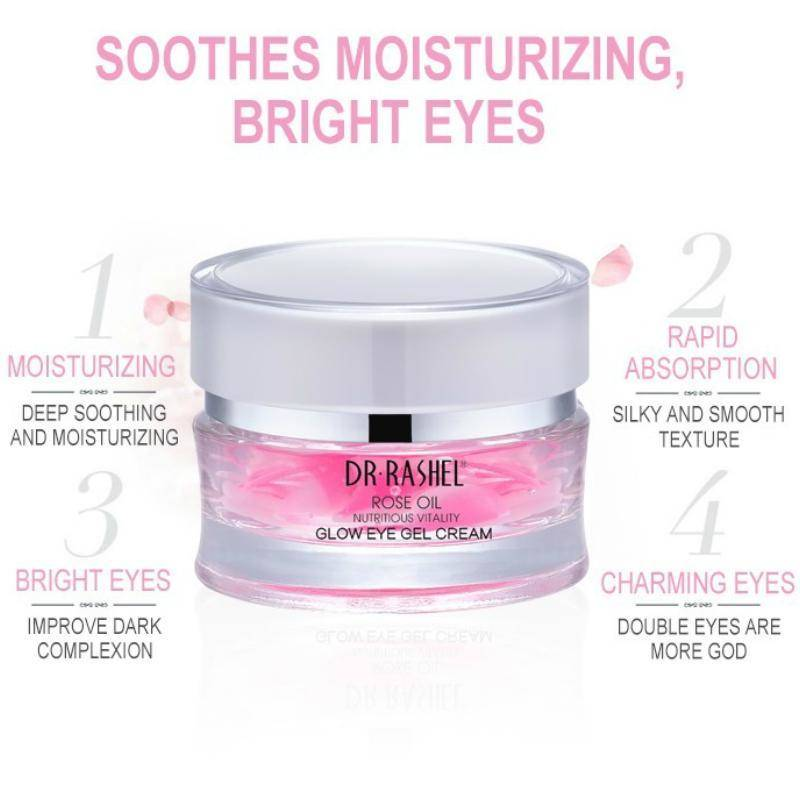 Dr.Rashel Rose Oil Glow Eye Gel Cream