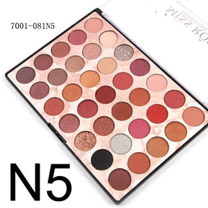 Miss rose 35 Color Fashion Eye shadow Palette