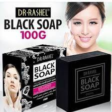 Dr.Rashel Collagen Charcoal Black Soap