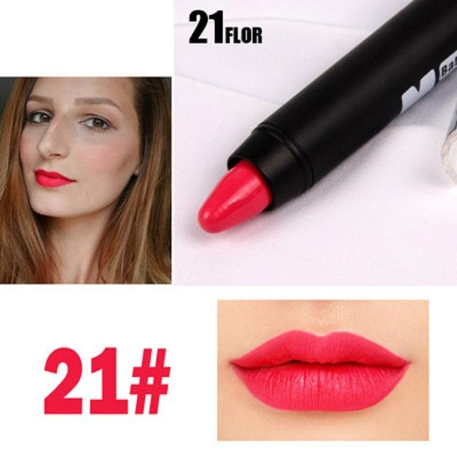 MISS ROSE Matte Lip Batom Crayon set of 8