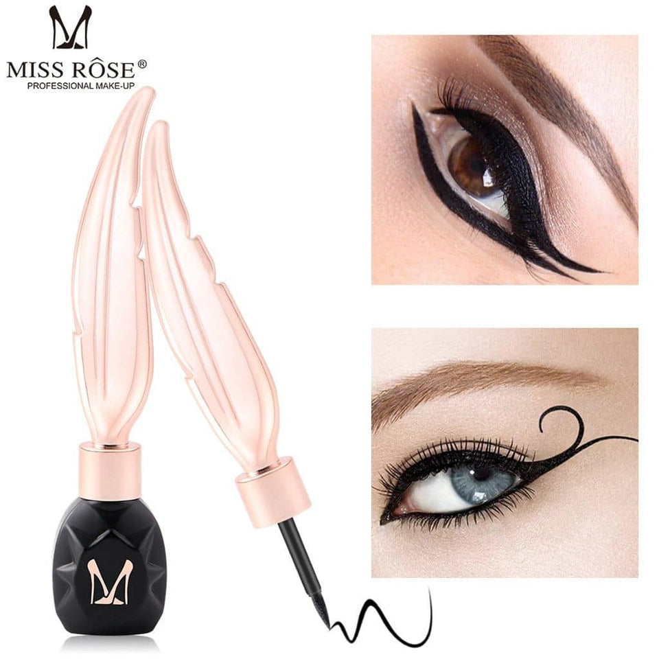 MISS ROSE Eyeliner Feather Pen Long Lasting