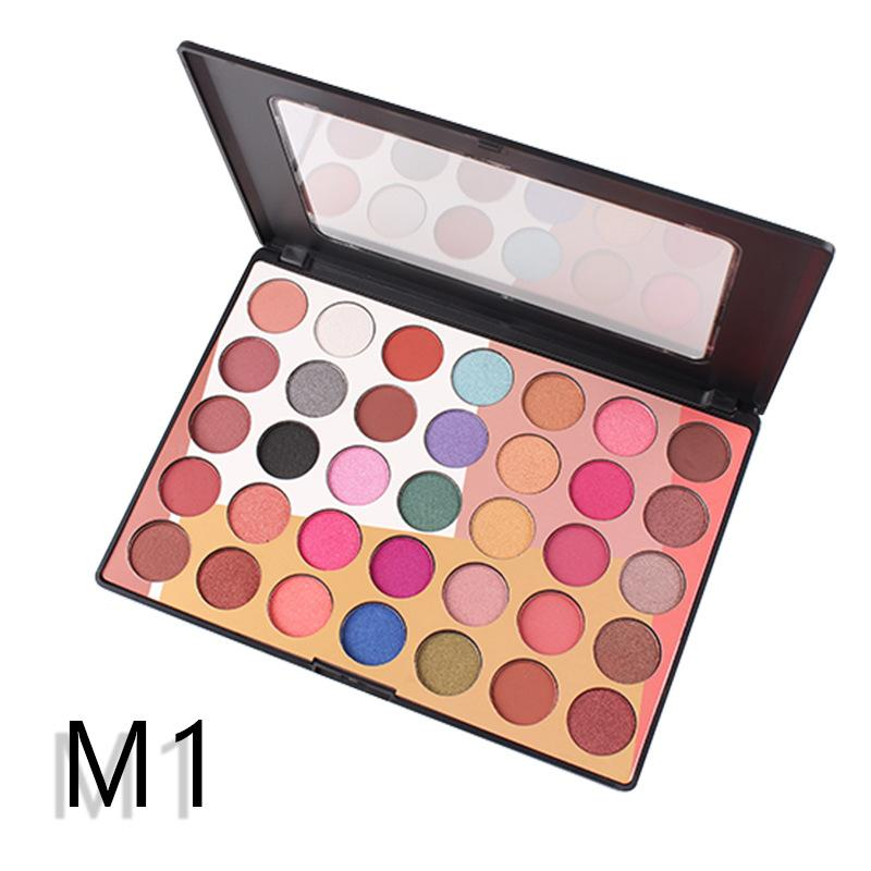 MISS ROSE 35 Color Fashion Eyeshadow Palette Matte EyeShadow Palette Glitter