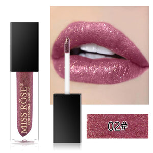 Miss Rose Diamond Glitter Lip Topper