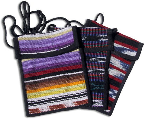 Guatemalan Bag with Velcro Closure