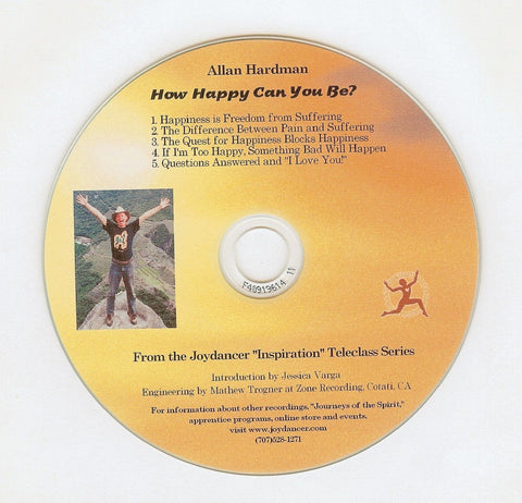 Allan Hardman: How Happy Can You Be? CD