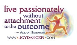 "Joydancer ""Live Passionately"" Cards - FREE"