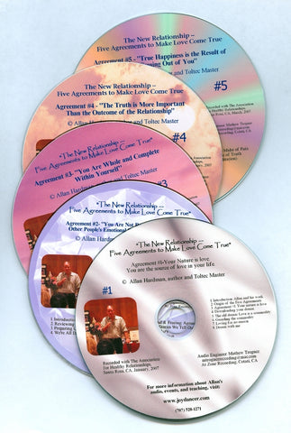 Allan Hardman: The set of five CD's ~ The New Relationship