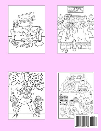 Mommin' Ain't Easy: An Adult Coloring Book for Moms