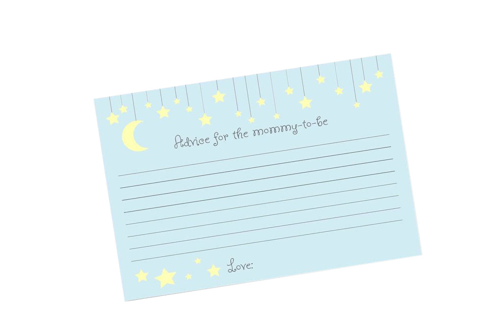 Twinkle little star advice cards