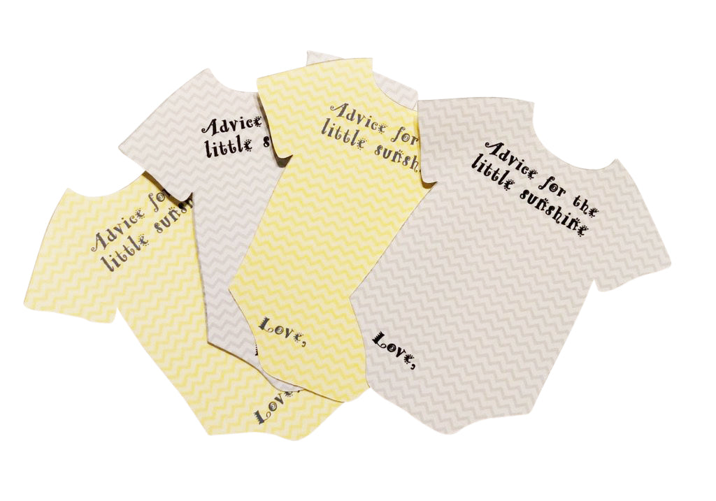 You are my sunshine bodysuit advice cards