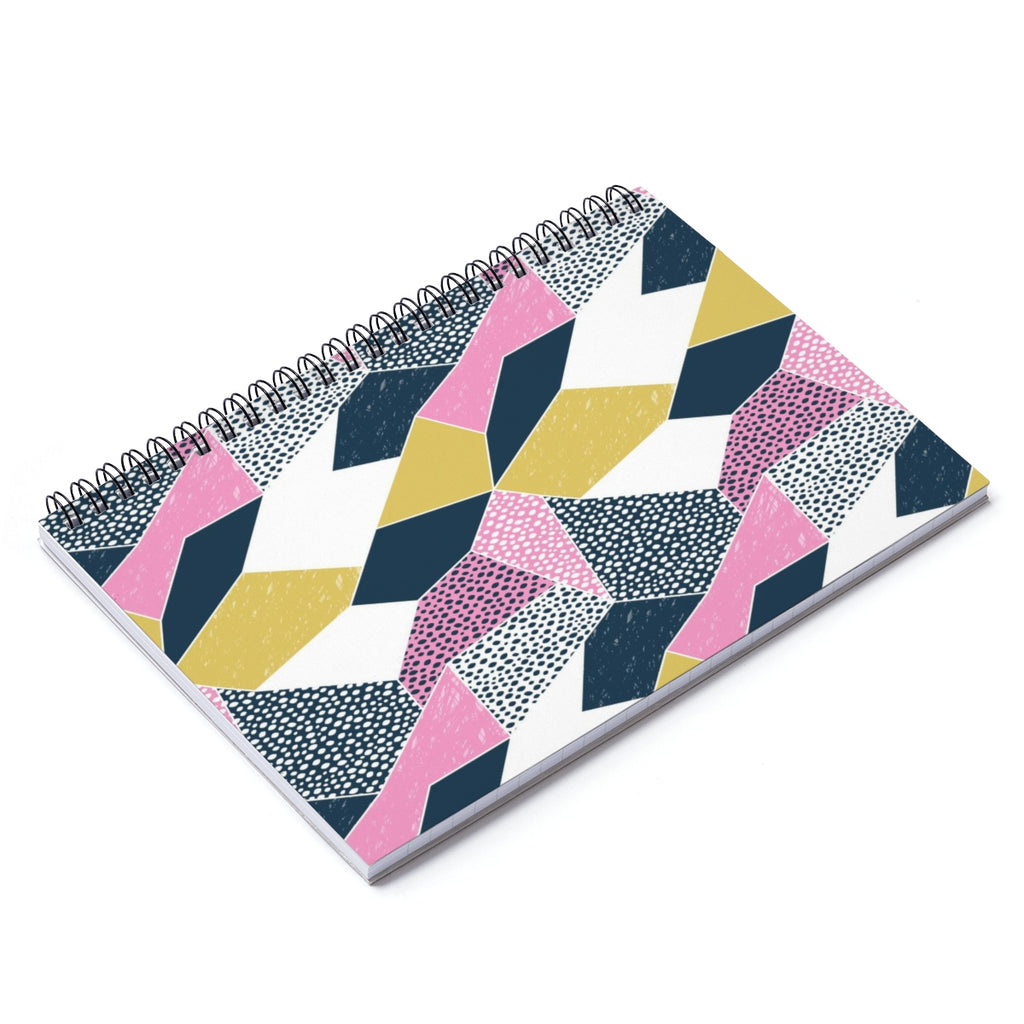 Geometric style notebook