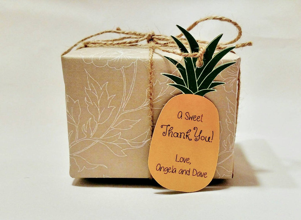 Pineapple Favor Tags (set of 24)